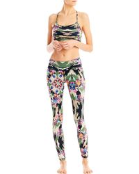 Nicole Miller - Kaleidoscope Leggings - Lyst