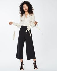 Nicole Miller - High Waisted Trousers - Lyst