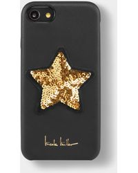 Nicole Miller - Gold Star Sequin Iphone 6/6s/7/8 Case - Lyst