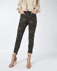 Nicole Miller   Camo Jeans   Lyst