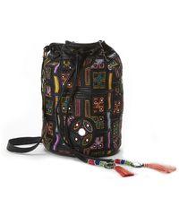 Nicole Miller - Panama Tiles Bucket Bag - Lyst