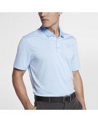 747ffd45da42 Lyst - Nike Victory Men s Slim Fit Golf Polo Shirt in Blue for Men