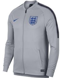 138402714 Nike Chelsea Fc Dri-fit Squad Football Track Jacket in Blue for Men ...
