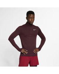 1ecd49c3 Nike Tech Sphere Knit Crew Men's Golf Cover-up in Gray for Men - Lyst