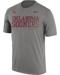 Nike | Dry College Legend Sideline (oklahoma) Men's T-shirt | Lyst