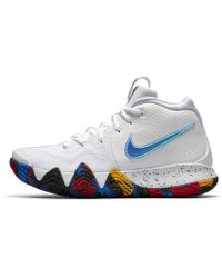 Lyst - Nike Kyrie 3 (gs) Big Kids Basketball Shoes Size 5.5 in White ... b42f607b88