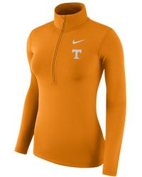 Nike - College Pro Warm (tennessee) Long-sleeve 1/2-zip Top - Lyst