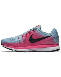 0c331fc49c237 Nike - Air Zoom Pegasus 34 Flyease (wide) Women s Running Shoe - Lyst