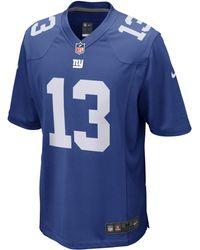 Nike - NFL New York Giants (Odell Beckham Jr.) Herren-Football-Heimtrikot - Lyst