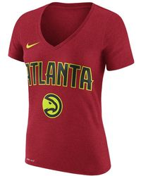 Nike - Atlanta Hawks Dry Women's Nba T-shirt - Lyst