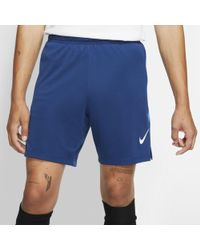 1050684b26 Nike Strike Aeroswift Men's Soccer Shorts in Blue for Men - Lyst