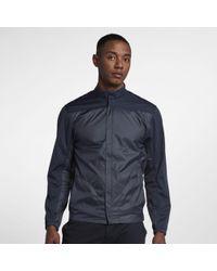 Nike Shield Full-zip Golf Jacket - Blue