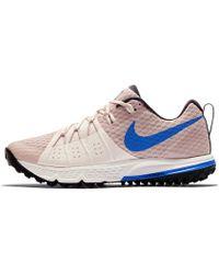 03e1c4a2cb189 Nike Air Zoom Wildhorse 4 Women s Running Shoe in Pink - Lyst