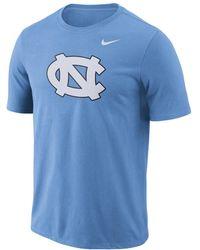 Nike - College Logo (unc) Men's T-shirt - Lyst