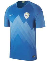 Lyst - Nike 2018 Slovenia Stadium Home Men s Soccer Jersey in Blue ... 1bfd79965