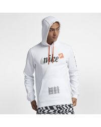 402107583fca Nike Sportswear Club Fleece Jdi Pullover Hoodie in Orange for Men - Lyst