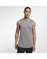 74908361204ad Lyst - Nike Utility Dri-fit Tank Top in Blue for Men