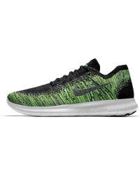 buy popular 8f8db b5aab Lyst - Nike Free Rn Flyknit Id Men's Running Shoe in Gray for Men