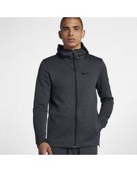 Nike - Sweatà capuche de basketball entièrement zippé Therma Flex Showtime pour Homme - Lyst