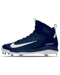 Nike - Alpha Huarache Elite Mid Metal Id Men's Baseball Cleats - Lyst