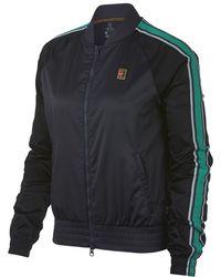 4db1d48f5c37 Lyst - Nike Court Maria Premier Women s Tennis Jacket in Green