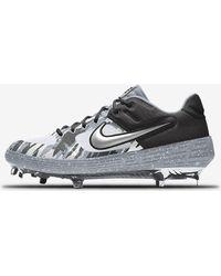 newest 4e047 e44fd Nike - Alpha Huarache Elite 2 Low Metal Premium By You Baseball Cleat - Lyst