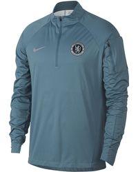 e427b180b Nike Chelsea Fc Tech Hoodie in Blue for Men - Lyst