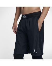 e18d2e769cb5 Nike Jordan Flight Bermuda Shorts in Black for Men - Lyst