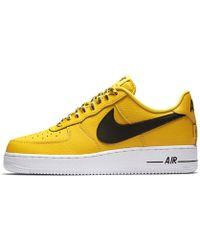 Lyst Nike Air Force 1 Low 07 En Nba Hombres Zapato En 07 Amarillo Para Hombres abaaed
