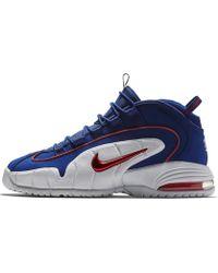 eb2a96c5c679 Lyst - Nike Air Penny Iv Men s Shoe in Black for Men