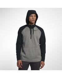 Nike - Therma Utility-Trainings-Hoodie mit Viertelreißverschluss für Herren - Lyst