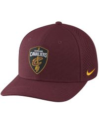 30158f097e2 Nike - Cleveland Cavaliers Aerobill Classic99 Adjustable Nba Hat (red) -  Lyst