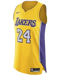 54b462fde06d89 Nike - Kobe Bryant Icon Edition Authentic (los Angeles Lakers) Men s Nba  Connected Jersey