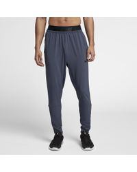 7c6a8e396161 Lyst - Nike Dri-fit Cuffed Men s Training Pants in Gray for Men