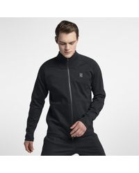 7a2e9e0e790a Lyst - Nike Court Bomber Men s Tennis Jacket in Black for Men