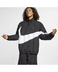 Nike - Sportswear' Swoosh' (loose Fit) Woven Windbreaker - Lyst