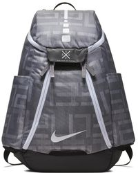 ba13868d9a3d Nike - Hoops Elite Max Air Team 2.0 Graphic Basketball Backpack (grey) -  Lyst
