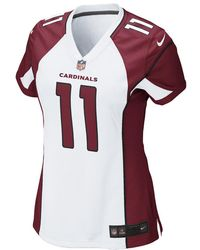 Nike - Nfl Arizona Cardinals (larry Fitzgerald) Women's Football Away Game Jersey - Lyst