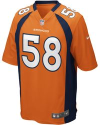 Nike - Maglia da football americano NFL Denver Broncos (Von Miller) Home Game - Lyst