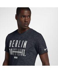 8f4331bf8 Nike Dri-fit Training T-shirt in Black for Men - Lyst