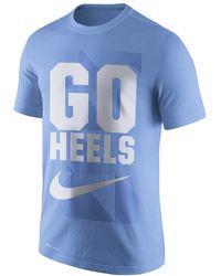 9b821a8477c2 Lyst - Nike Dri-fit College Legend Sideline (unc) Men s T-shirt