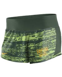 Nike - College Dry Crew (baylor) Women's Shorts - Lyst