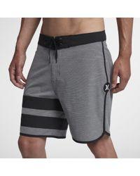 "Nike - Shorts da surf 18""Hurley Phantom Block Party Slub - Lyst"