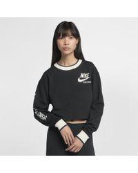 Nike - Sportswear Reversible Women's Crew - Lyst