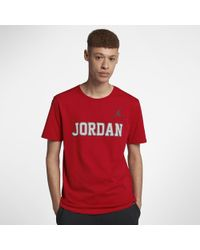 fe939b0c498b5c Lyst - Nike Re2pect Raglan Men s 3 4 Sleeve T-shirt