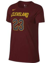 942eb238761e Nike - Lebron James Cleveland Cavaliers Dri-fit Women's Nba T-shirt - Lyst