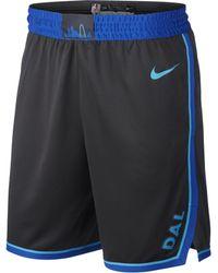 Nike - Dallas Mavericks City Edition Swingman NBA-Shorts für Herren - Lyst