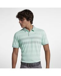 Nike - Polo de golfà rayures Zonal Cooling pour Homme - Lyst