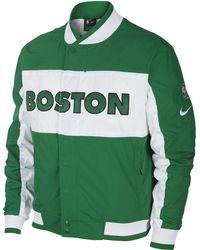 e0584d3243 Nike - Boston Celtics Courtside Nba Jacket - Lyst