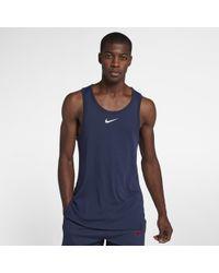 9db8adc4 Nike Breathe Elite Sleeveless Basketball Top in Black for Men - Lyst